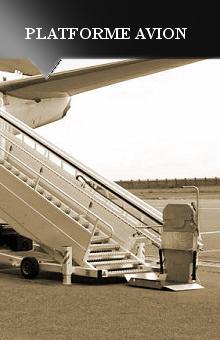 Platforme avion